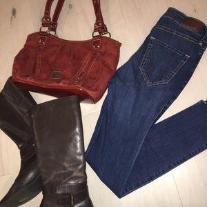 Hollister Hi Rise Super Skinny Jeans 25/28 1S